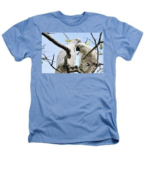 White Cockatoos Heathers T-Shirt