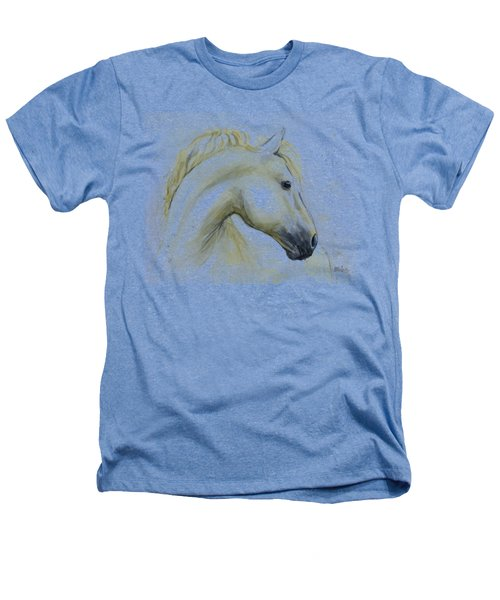 White Horse Watercolor Heathers T-Shirt