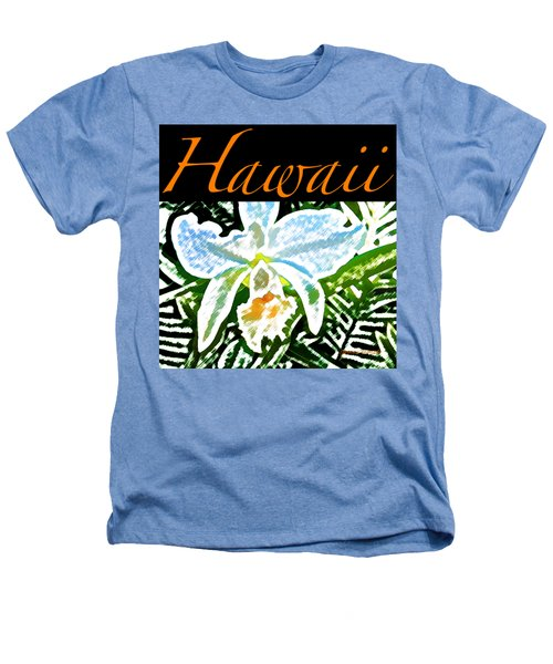 White Orchid T-shirt Heathers T-Shirt