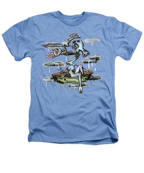 Why Sky Captain Heathers T-Shirt by Kelly Jade King