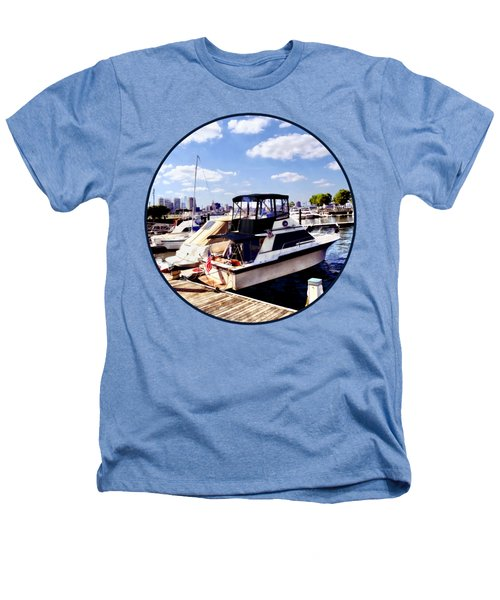 Wiggins Park Marina Heathers T-Shirt by Susan Savad