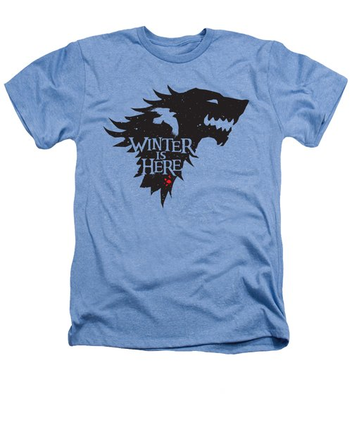 Winter Is Here Heathers T-Shirt by Edward Draganski