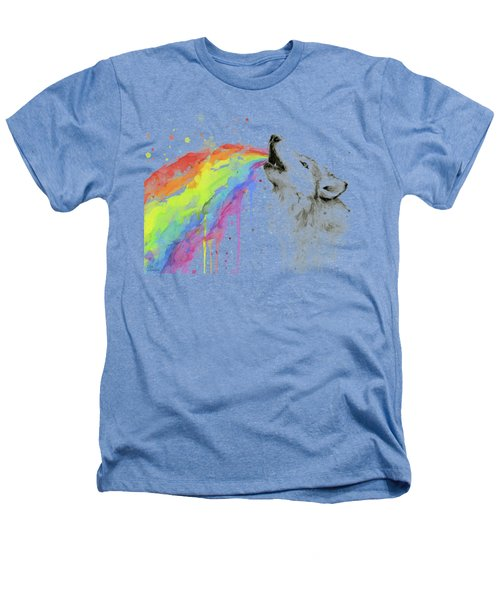Wolf And Rainbow  Heathers T-Shirt