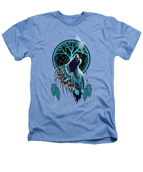 Wolf Indian Shaman Heathers T-Shirt