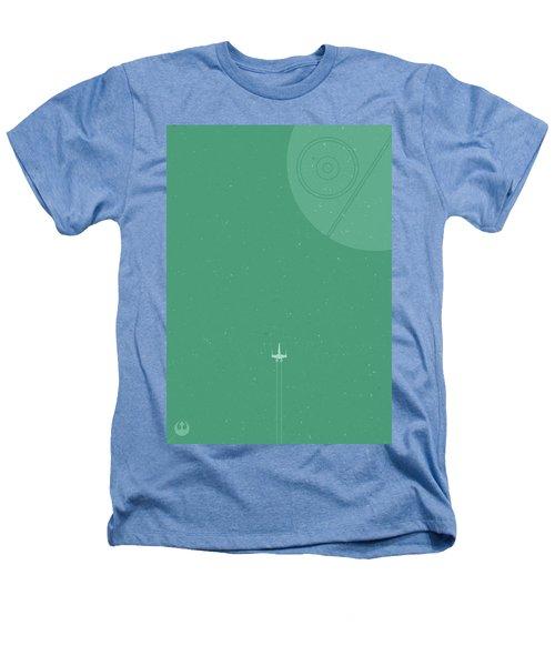 X-wing Meets Death Star Heathers T-Shirt