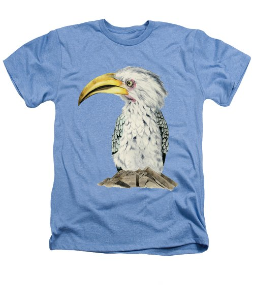 Yellow-billed Hornbill Watercolor Painting Heathers T-Shirt
