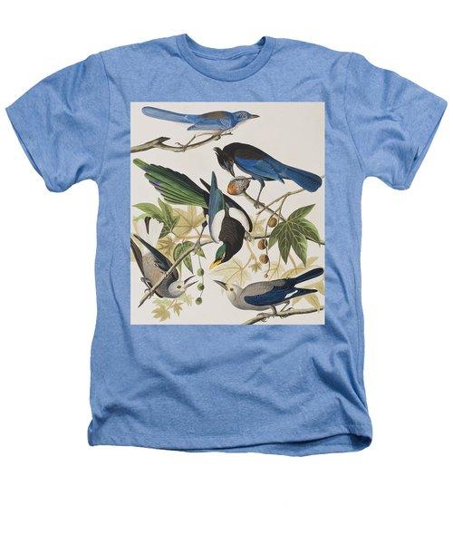 Yellow-billed Magpie Stellers Jay Ultramarine Jay Clark's Crow Heathers T-Shirt