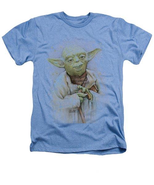 Yoda Heathers T-Shirt by Olga Shvartsur