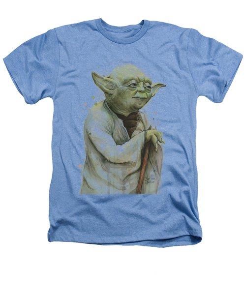 Yoda Portrait Heathers T-Shirt
