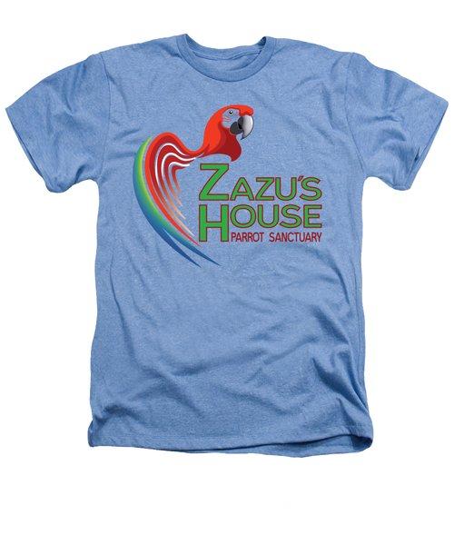 Zazu's House Parrot Sanctuary Heathers T-Shirt by Zazu's House Parrot Sanctuary