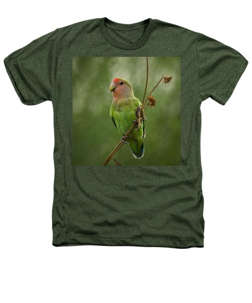 Lovely Little Lovebird  Heathers T-Shirt