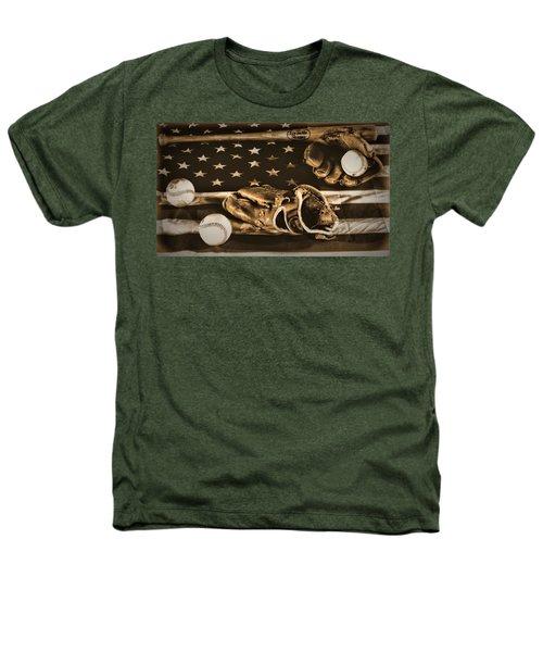 Vintage Baseball Heathers T-Shirt