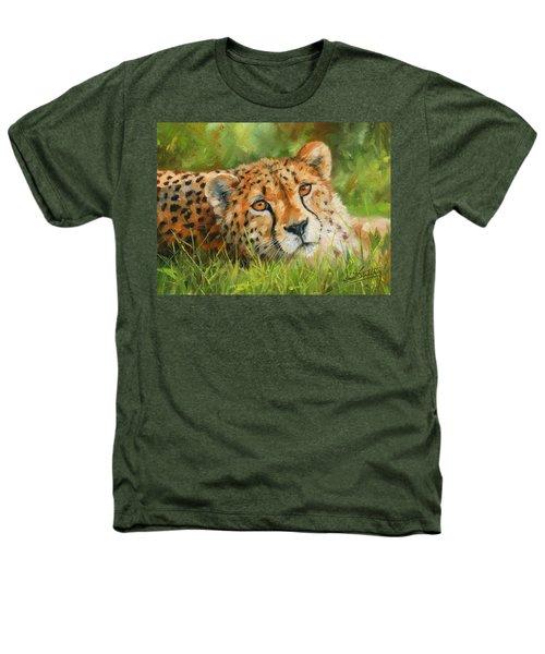 Cheetah Heathers T-Shirt by David Stribbling