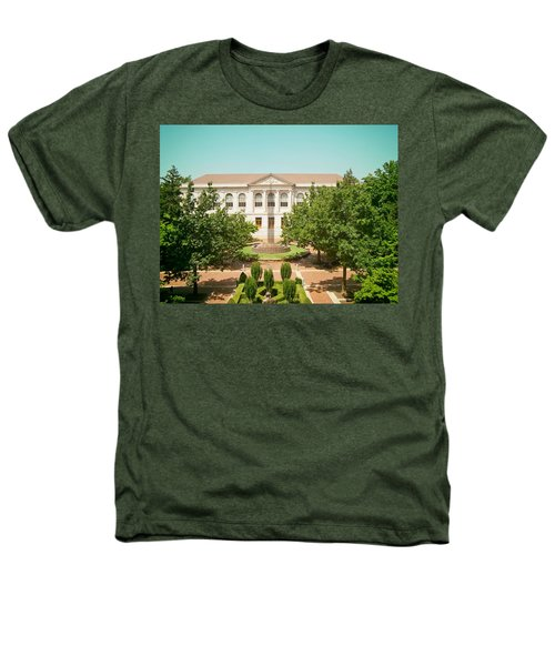The Old Main - University Of Arkansas Heathers T-Shirt