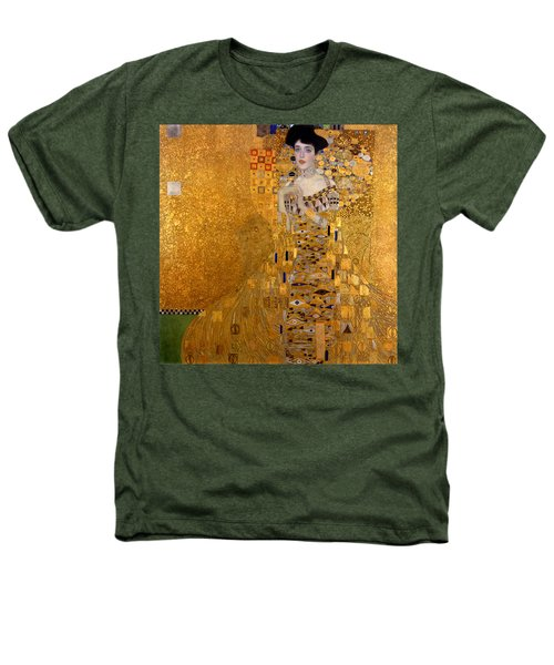 Adele Bloch Bauers Portrait Heathers T-Shirt by Gustive Klimt