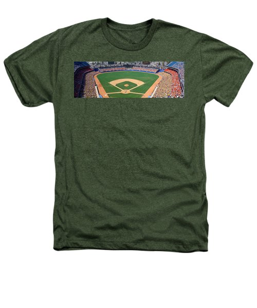 Aerial View Of A Stadium, Dodger Heathers T-Shirt