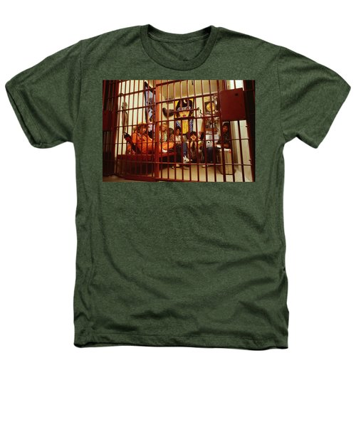 Aerosmith - In A Cage 1980s Heathers T-Shirt by Epic Rights