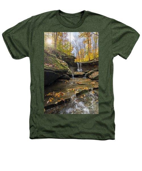 Autumn Flows Heathers T-Shirt by James Dean