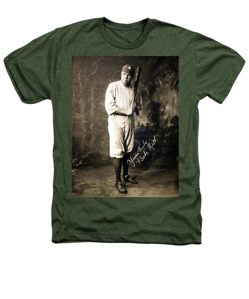 Babe Ruth 1920 Heathers T-Shirt by Mountain Dreams