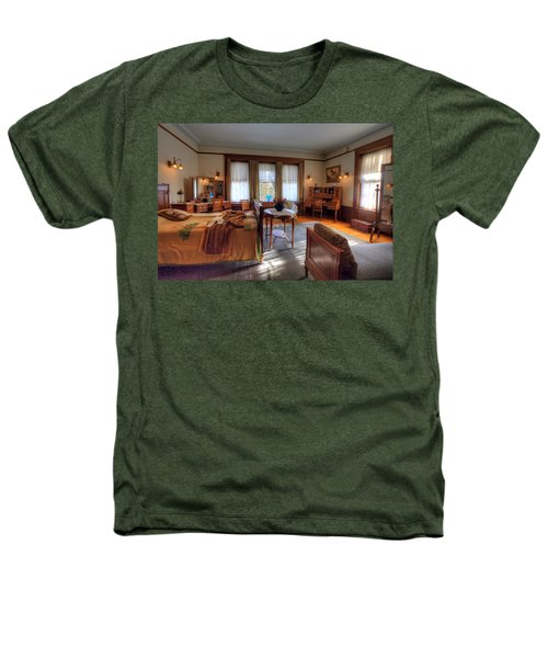 Bedroom Glensheen Mansion Duluth Heathers T-Shirt by Amanda Stadther