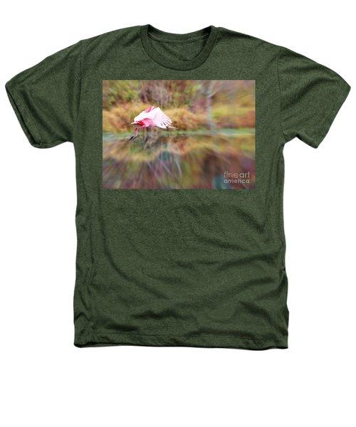 Birds Eye View Heathers T-Shirt by Carol Groenen