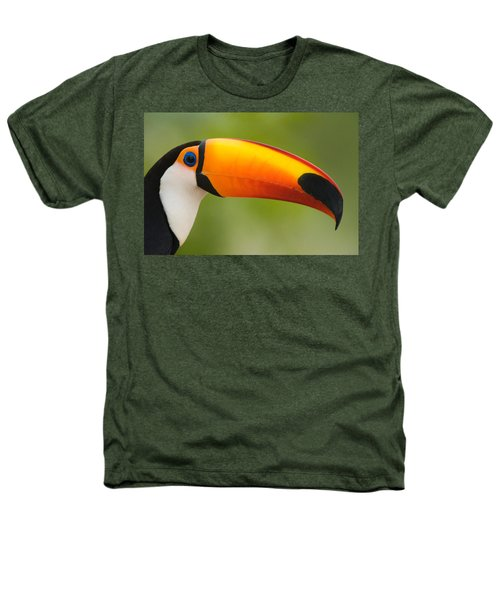 Close-up Of A Toco Toucan Ramphastos Heathers T-Shirt
