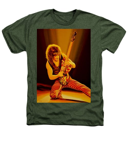 Eddie Van Halen Painting Heathers T-Shirt by Paul Meijering