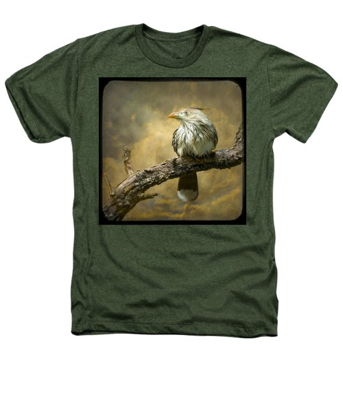 Exotic Bird - Guira Cuckoo Bird Heathers T-Shirt by Gary Heller