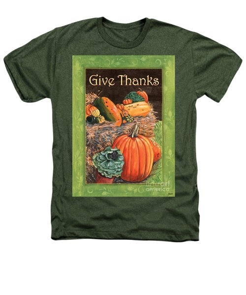 Give Thanks Heathers T-Shirt by Debbie DeWitt