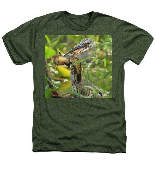 Great Blue Killer Heathers T-Shirt by Adam Jewell