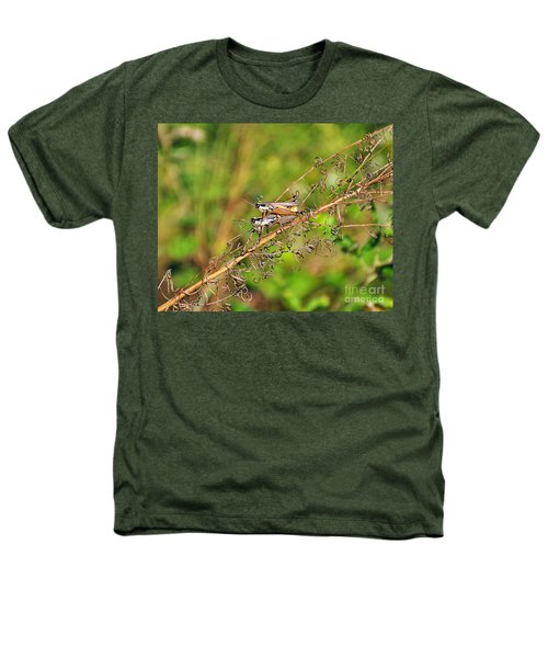 Gregarious Grasshoppers Heathers T-Shirt