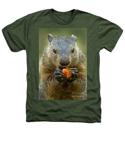 Groundhogs Favorite Snack Heathers T-Shirt by Paul W Faust -  Impressions of Light