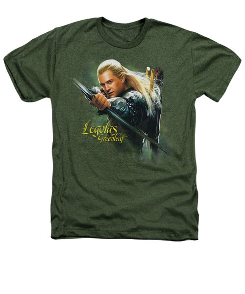 Hobbit - Legolas Greenleaf Heathers T-Shirt by Brand A