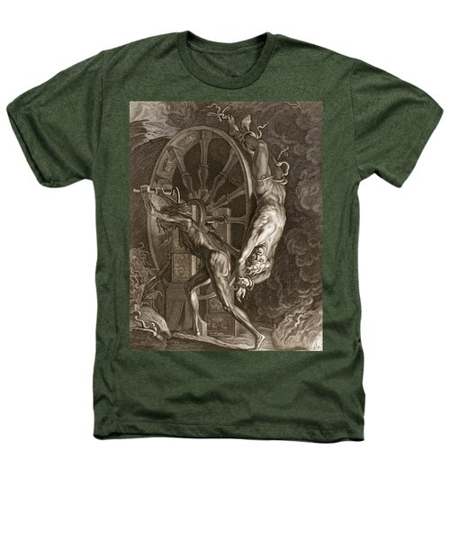 Ixion In Tartarus On The Wheel, 1731 Heathers T-Shirt by Bernard Picart