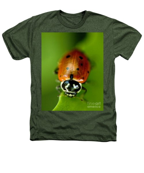 Ladybug On Leaf Heathers T-Shirt
