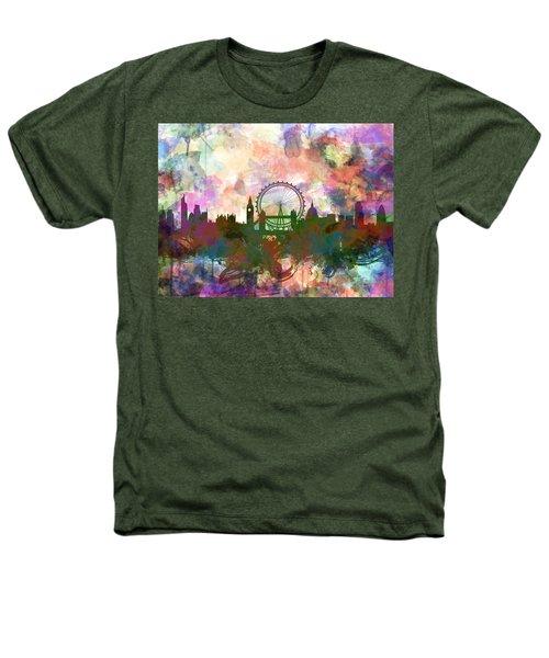 London Skyline Watercolor Heathers T-Shirt