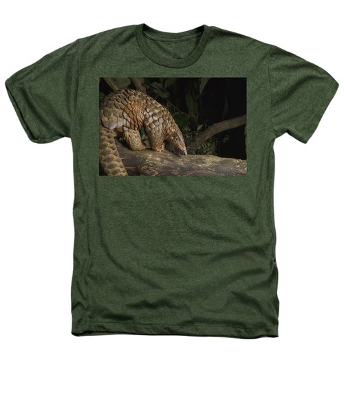 Malayan Pangolin Eating Ants Vietnam Heathers T-Shirt