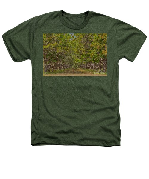 Mango Orchard Heathers T-Shirt by Douglas Barnard