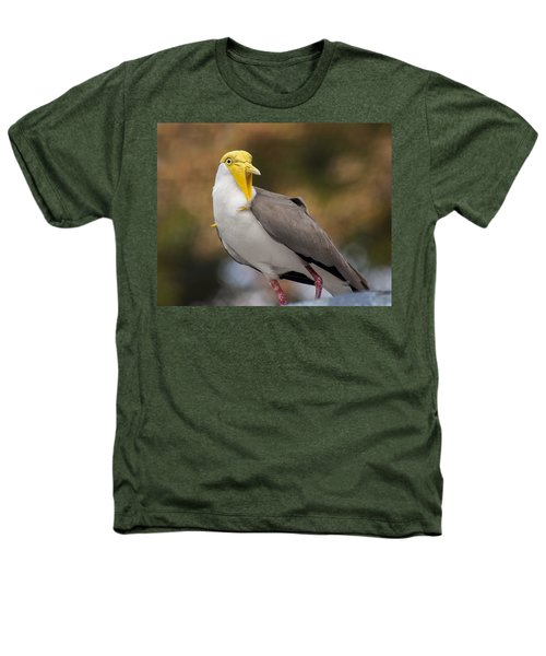 Masked Lapwing Heathers T-Shirt by Carolyn Marshall
