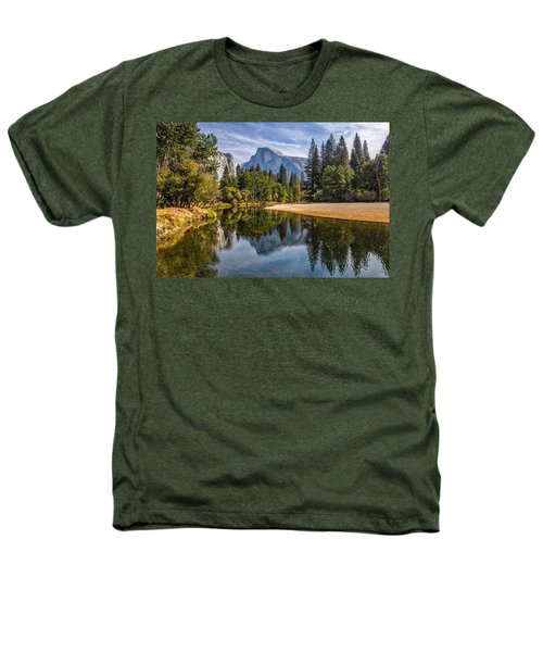 Merced River View II Heathers T-Shirt by Peter Tellone