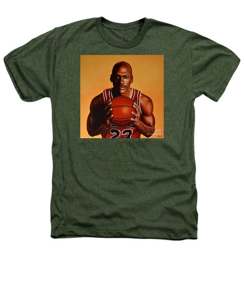 Michael Jordan 2 Heathers T-Shirt