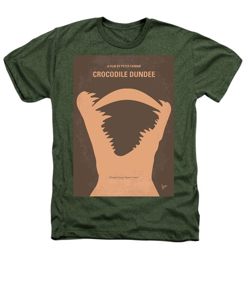 No210 My Crocodile Dundee Minimal Movie Poster Heathers T-Shirt