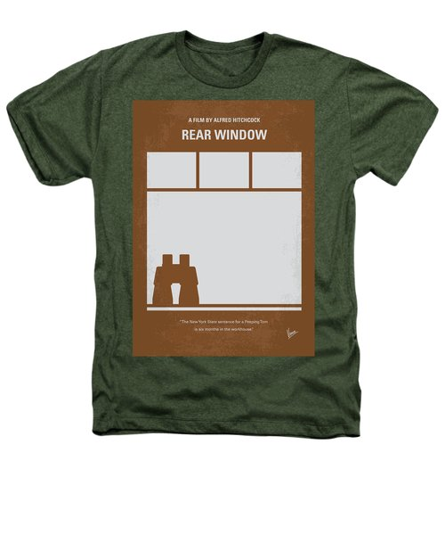 No238 My Rear Window Minimal Movie Poster Heathers T-Shirt by Chungkong Art