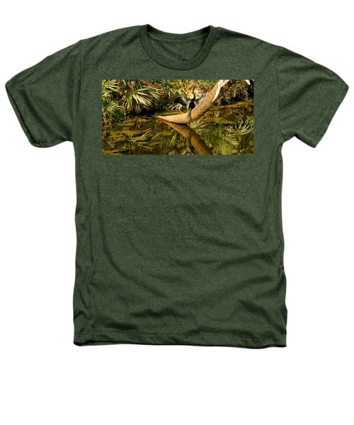 Oriental Darter Anhinga Melanogaster Heathers T-Shirt by Panoramic Images