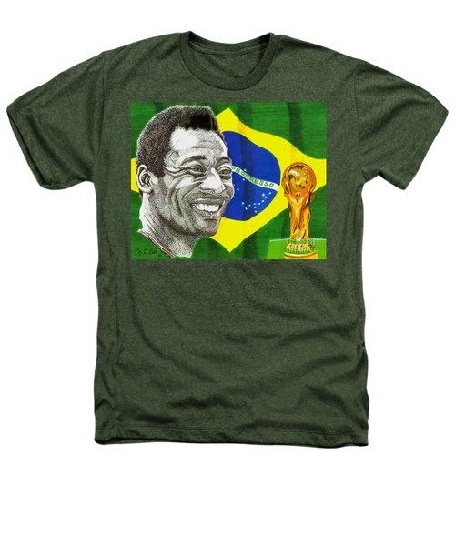 Pele Heathers T-Shirt by Cory Still
