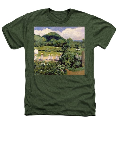 Picnic In May, Summer Day, 1906 Heathers T-Shirt