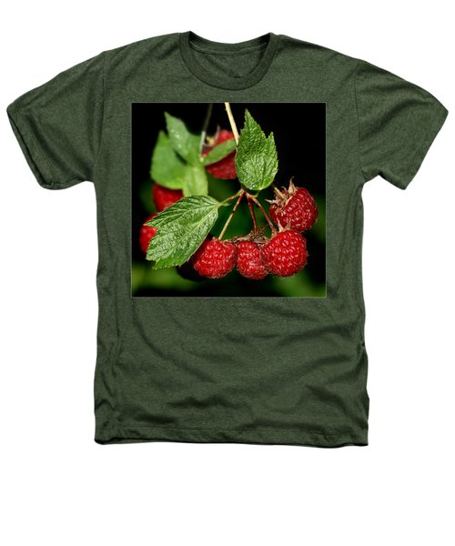Raspberries Heathers T-Shirt by Nikolyn McDonald