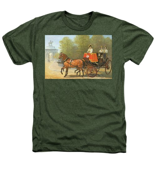 Returning From Her Majestys Drawing Room Heathers T-Shirt by Alfred Corbould