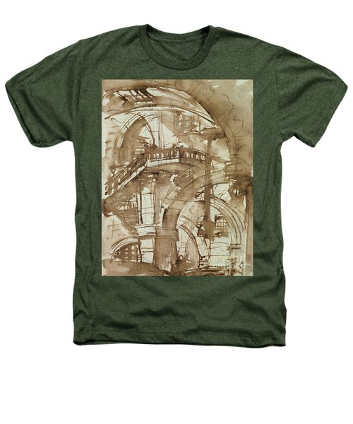 Roman Prison Heathers T-Shirt by Giovanni Battista Piranesi