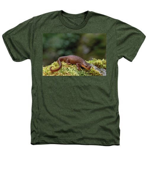 Rough-skinned Newt Oregon Heathers T-Shirt by Gerry Ellis
